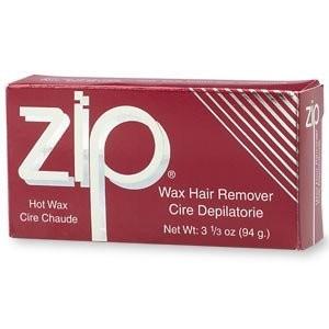 Zip Wax Hot Wax Hair Remover3 oz (85 g)
